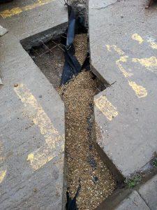 Fuel pipeline installation